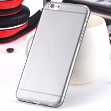 Силиконовый чехол для iРhone 6/6S (черный)