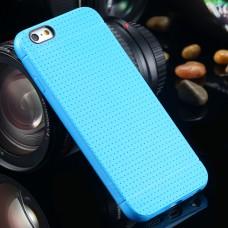 Ультратонкий силиконовый чехол для  iPhone 6/6S (голубой)