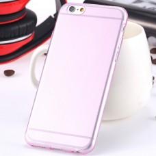 Полупрозрачный чехол для iРhone 6/6S (розовый)