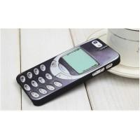 """Пластиковый чехол для iPhone 5/5S в стиле """"Ретро"""""""
