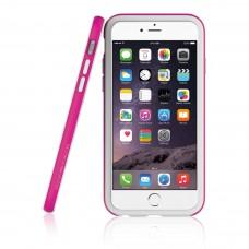 Бампер Araree Hue для iPhone 6/6s (белый + розовый)