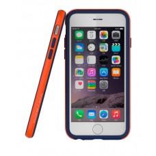 Бампер Araree Hue для iPhone 6/6s (синий + оранжевый)