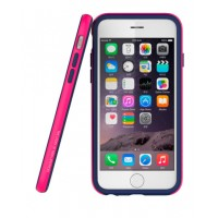 Бампер Araree Hue для iPhone 6/6s (синий + розовый)