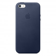 Чехол для iPhone 5/5s Apple Leather Case Midnight Blue (копия)