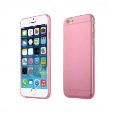Силиконовый чехол Baseus Simple Case Pink для iPhone 6/6s
