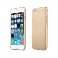 Силиконовый чехол Baseus Simple Case Gold для iPhone 6/6s