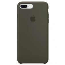 Силиконовый чехол Apple Silicone Case Dark Olive для iPhone 7 plus/8 plus (Реплика)