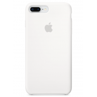 Силиконовый чехол Apple Silicone Case White для iPhone 7 plus/8 plus (Реплика)