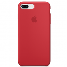 Силиконовый чехол Apple Silicone Case Red для iPhone 7 plus/8 plus (Реплика)