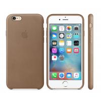 Apple Leather Case Brown Original 6/6s
