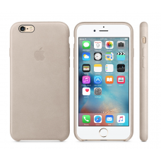 Apple Leather Case Rose Gray Original 6/6s