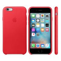Apple Leather Case Red Original 6 plus/6s plus