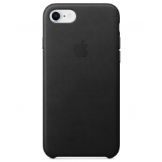 Apple leather case iphone 7 Black (чёрный) купить Киев Украина - apple iphone 7 leather case
