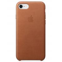 Кожаный чехол Apple Leather Case Saddle Brown для iPhone 7/iPhone 8 (копия)