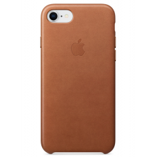 Кожаный чехол Apple Leather Case Saddle Brown для iPhone 7/iPhone 8 (копия)