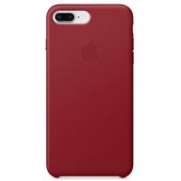 Кожаный чехол Apple Leather Case Red для iPhone 7plus/iPhone 8plus (копия)