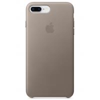 Кожаный чехол Apple Leather Case Taupe для iPhone 7plus/iPhone 8plus (копия)