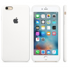 Apple Silicone Case White iPhone 6 plus/ 6s plus купить Киев Украина - apple iPhone 6 plus silicon case