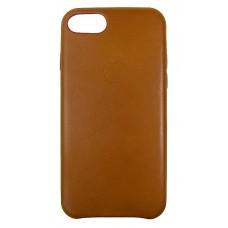 HandMade чехол из натуральной кожи iphone 7 / 8 Saddle Brown (коричневый) купить Киев Украина - HandMade чехол 7 / 8