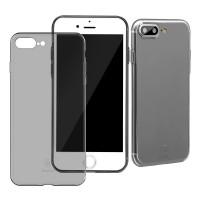 Супер-тонкий чехол Baseus Multy Protective Transparent-black для iPhone 7/8 plus