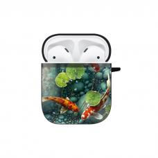 Силиконовый чехол Softmag Case Red fish для AirPods 1/2