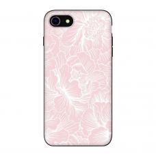 Силиконовый чехол Softmag Case Flower для iPhone 7/8