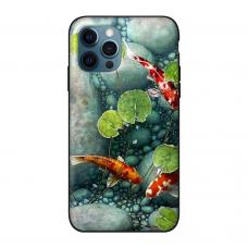 Силиконовый чехол Softmag Case Red fish для iPhone 12 Pro Max