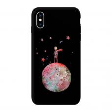 Силиконовый чехол Softmag Case Маленький принц для iPhone Xs Max
