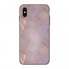 Силиконовый чехол Softmag Case Flower ornament для iPhone X/Xs