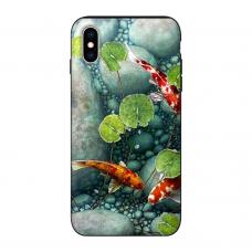 Силиконовый чехол Softmag Case Red fish для iPhone X/Xs