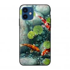 Силиконовый чехол Softmag Case Art 13 для iPhone 12