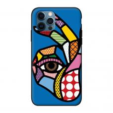 Силиконовый чехол Softmag Case Art 5 для iPhone 12 Pro