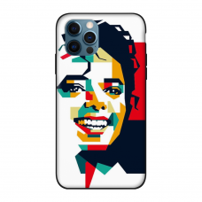 Силиконовый чехол Softmag Case Michael Jackson для iPhone 12 Pro