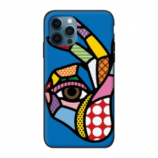 Силиконовый чехол Softmag Case Art 5 для iPhone 12 Pro Max