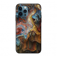 Силиконовый чехол Softmag Case Art 22 для iPhone 12 Pro Max