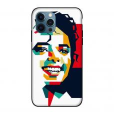 Силиконовый чехол Softmag Case Michael Jackson для iPhone 12 Pro Max