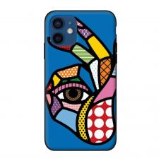 Силиконовый чехол Softmag Case Art 5 для iPhone 12 mini