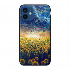 Силиконовый чехол Softmag Case Art 8 для iPhone 12 mini