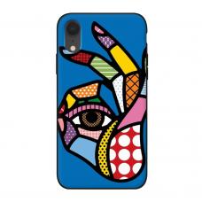 Силиконовый чехол Softmag Case Art 5 для iPhone Xr