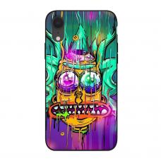 Силиконовый чехол Softmag Case Rick and Morty для iPhone Xr