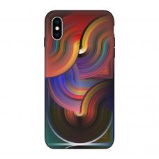 Силиконовый чехол Softmag Case Art 10 для iPhone X/Xs