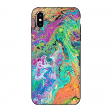 Силиконовый чехол Softmag Case Art 28 для iPhone X/Xs