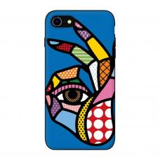 Силиконовый чехол Softmag Case Art 5 для iPhone 7/8