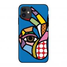 Силиконовый чехол Softmag Case Art 5 для iPhone 11