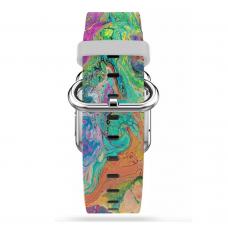 Ремешок Softmag White Art 16 для Apple Watch