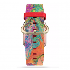 Ремешок Softmag Red Art 16 для Apple Watch