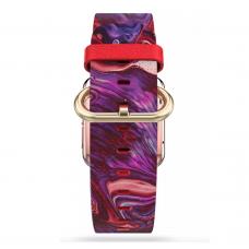 Ремешок Softmag Red Art 32 для Apple Watch