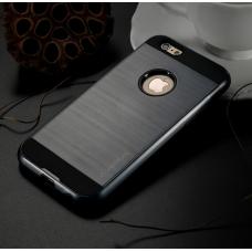 "Бампер с накладками для iPhone 6/6S (""Метал"")"