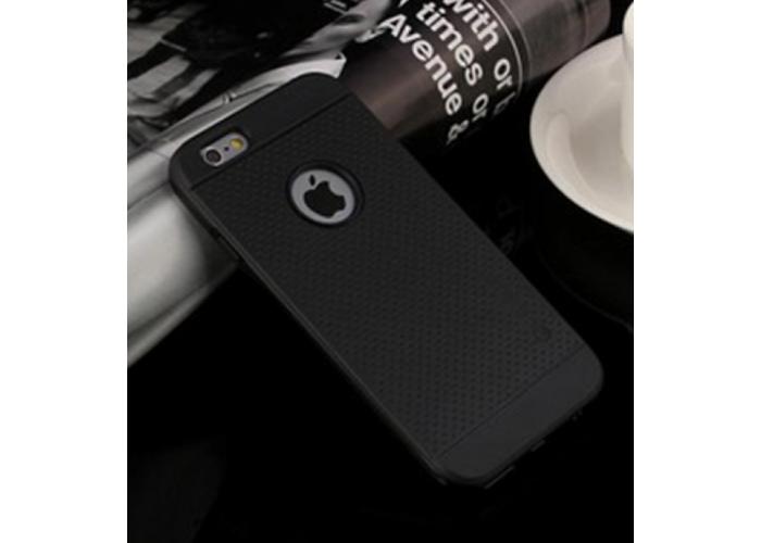 Черный бампер с накладками для iPhone 6 PLUS / 6S PLUS