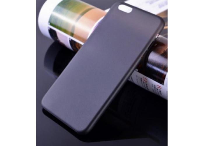 Пластиковый ультратонкий чехол для iPhone 6/6S (Черный)